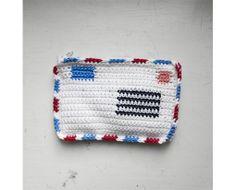Crochet wallet.