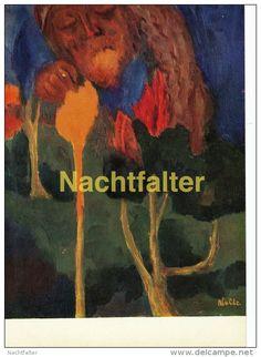 AK - Künstlerkarte - Emil Nolde - Der große Gärtner