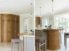 This Luxury Bespoke Kitchen in Hadley Wood is a stunning example of the traditional joinery techniques and workmanship by Humphrey Munson. Inframe Kitchen, Kitchen Keeping Room, Humphrey Munson, Kitchen Island With Seating, Bespoke Kitchens, Hadley, Joinery, Traditional, Luxury