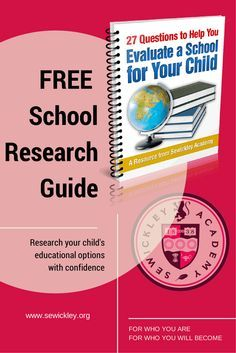 27 Questions to Help You Evaluate A School For Your Child A FREE resource to help you compare educational options for your child. #education