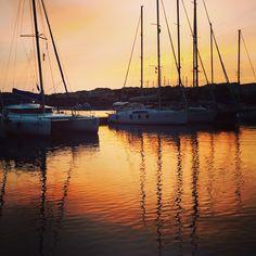 Piccolo riassunto di questo #weekend in #catamarano all' #asinara, Mattia domani ricorda che devi lavorare! 😉😉