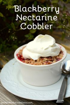 Nectarine Cobbler on Pinterest | Nectarine Crisp, Nectarine Pie and ...