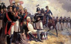 """I think the French are over that-a-way...""  Field Marshal Mikhail Kutuzov at his command post during the battle of Borodino in 1812"