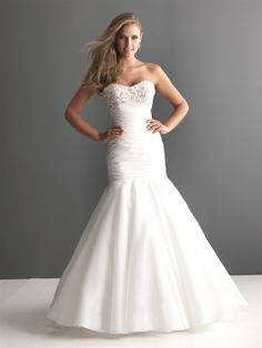 Stunning And Romantic Allure Bridals Collection
