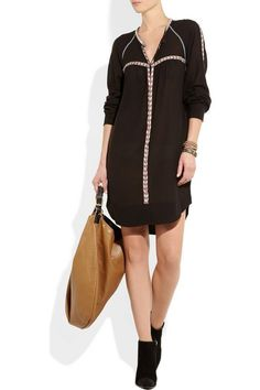 AUTHENTIC ISABEL MARANT ETOILE FITA LONG SLEEVE SHIRT DRESS  #ISABELMARANTETOILE #ShirtDress