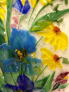 Image result for fused glass plates bowls