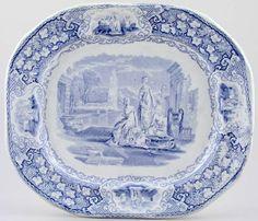 Castleford Verona Meat Dish or Platter c1860
