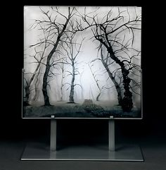 I love this art piece. Gnarled Sentinels by Paul Messink: Art Glass Sculpture available at www.artfulhome.com