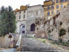 Torre en las antiguas murallas de Alcoy.