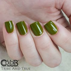 TRIBE & TRUE - Color Club - (mini) From the Spring 2014 Safari Garden Collection - Jelly green w/a yellow undertones. (3 coats) NOTES: the color looks nothing like the description