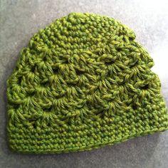 Shell Stitch Beanie pattern