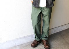 olive fatigue pants