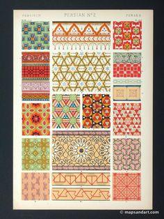 Decorative Accessories:  Persian patterns