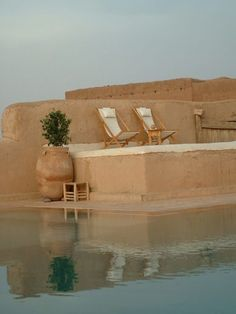 maroccan outdoor place pool inspiration