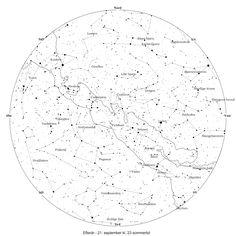 Stjernekort - EFTERÅR  21. september kl 23. Sommertid