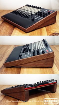Studio Desk Music, Recording Studio Furniture, Home Recording Studio Setup, Home Studio Setup, Audio Studio, Sound Studio, Dj Equipment For Sale, Home Music Rooms, Deco Studio