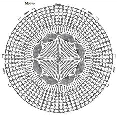By Mariza Crochet Designer: Blusa Crochet Mandala Com Pap - Diy Crafts Crochet Doily Rug, Crochet Mandala Pattern, Crochet Square Patterns, Crochet Motifs, Crochet Doily Patterns, Crochet Diagram, Crochet Round, Crochet Chart, Thread Crochet