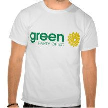 The Green Party of British Columbia T-shirt