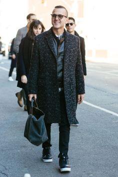 New York Fashion Week Men's Fall '16 Street Style