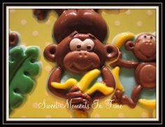 Monkey Chocolate Lollipop www.facebook.com/sweetmomentsintime