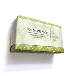 Get Lucky Man Soap   a cool gift for men for St Patrick's by soap, $5.75