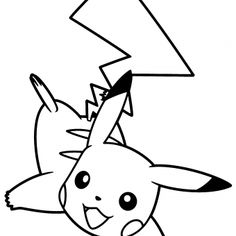 #Dibujo de #Pikachu, el ratón más famoso Pikachu Drawing, Horse Coloring Pages, Horses, Black And White, Drawings, Fictional Characters, Print Coloring Pages, Color Activities, How To Draw Stuff