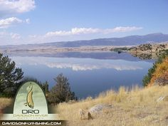A beautiful shot of Ennis Lake, Montana - Davidson River Outfitters Montana Trip with Rainbow Valley Lodge
