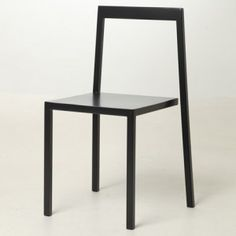 Chair 3/4 by Sandro Lominashvili. Only three legs are attached, creating the illusion of risk.