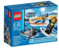 LEGO 60011 SURFER RESCUE SET NEW IN THE BOX W/ FREE SHIPPING in the USA #Lego