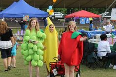 Passing out snacks at the Calhoun County Relay for Life.
