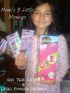 Enter to #win a Girl Talk Locker & LEGO Friends Stickers from @Shelagh Schylling Toys ($21.98ARV) US 9/11 #giveaway