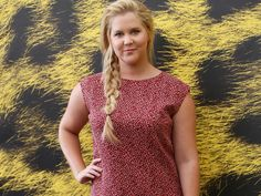 Amy Schumer's 5-Minute Messy Braid is Perfect Back-to-School Hair Inspiration | Levo League |         hairstyle, hair, back to school hair, back to school
