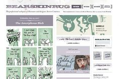 bearskinrug.co.uk I like the layout and the header of this webpage. I don't have content that would work this way but I like having clean lines as well as their fonts.