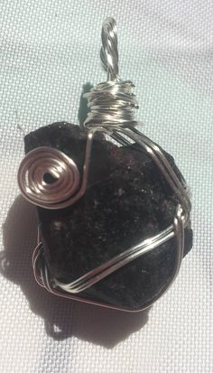 Rubellite and Pink Tourmaline Pendant by GaiasGemsNHealing on Etsy