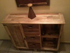 furniture cabinet pallet, diy - Buscar con Google