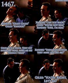 Giles never dreams of Xander