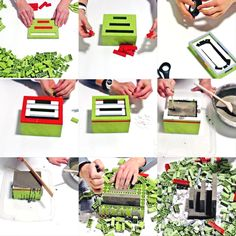 How to make a desk organizer with and Great addition to a home office! Tutorial courtesy of and Diy Office Desk, Diy Desk, Desk Organization Diy, Diy Concrete, Furniture Projects, Home Decor Accessories, Legos, Craft Ideas, Create
