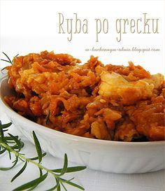 Polish Recipes, Aga, Chana Masala, Seafood Recipes, Meal Prep, Food And Drink, Meals, Dinner, Ethnic Recipes