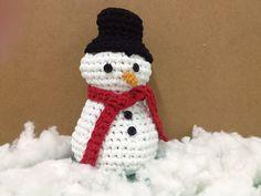 Patrón muñeco de nieve a ganchillo xxl o crochet
