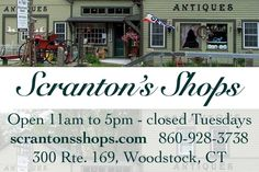 Welcome to Scranton's Shops Woodstock's Finest, Multi Dealer Shop Labour Day Weekend, Country Primitive, 2nd Floor, Antique Shops, Woodstock, 30 Years, Square Feet, Floors, Friday