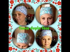 touca dupla face - YouTube Sewing Crafts, Sewing Projects, My Favourite Teacher, Sewing Patterns, Bandanas, Patches, Fabric, Handmade, Quilts