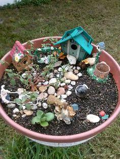 My mini garden is growing mushrooms!!!