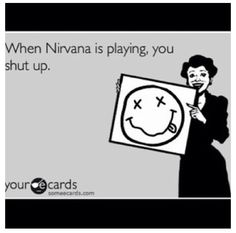 Smartest thing ever said... #Grunge #Nirvana #Kurtcobain #guitar #drums #singer #vocals #band #rock #music
