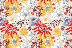 векторная графика, цветы , flowers, цветочный, орнамент, листики, цветы, фон
