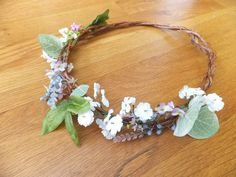 Head piece for Woodland Fairy costume
