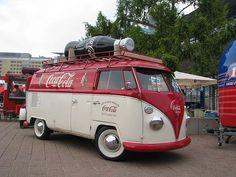 coca cola vw bus. cool! #vintage: