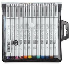 Alvin Sp1203 Copic Multiliner Color SP Pen by Alvin. $94.99. Replaceable Tips.. Pigment Based Inking Pens.. Aluminum Body.. Refill Cartridges.. 12 Colors in Size 0.3mm.. With over 54 years of experience, Alvin is one of the primary sources for drafting supplies and drawing equipment in the country. Together with this core group of products, we continue to meet the needs our customers with our expanding range of fine art, hobby and craft supplies, our large selec...