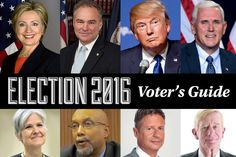 Long Island Voter's Guide 2016