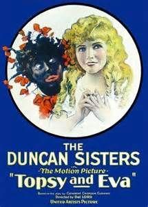 Topsy and Eva 1927 Movie Poster