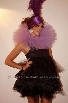 Homemade Yzma Costume from The Emperor's New Groove... This website is the Pinterest of costumes